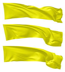 Yellow flags set