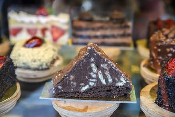 Traditional Turkish delights and desserts, baklava, lokum