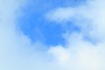 abstract background, blue sky.photo with place for text