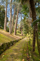 Parco e giardino di Villa Durazzo, Santa Margherita Ligure, Golfo del Tigullio, Mar Ligure, Genova, Liguria, Ita