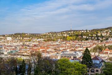 Stuttgart Karlshoehe cityscape