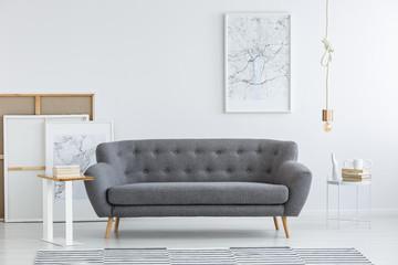 Artistic living room interior