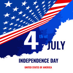 independence day card United States July 4
