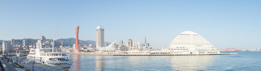 神戸ハーバーランド モザイクからの風景