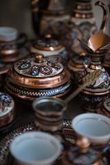 Traditional bosnian pans in Sarajevo