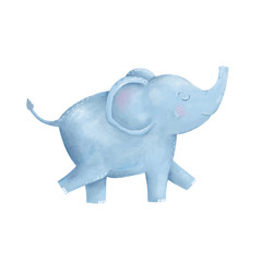 Elephant clip art digital animal