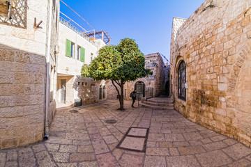 Papiers peints Moyen-Orient Street Life on the streets of Jerusalem.