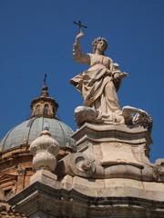 イタリア、シチリアのパレルモの風景