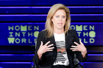 Harris, Executive Director at Justice Action Network speaks during the Women In The World Summit in New York