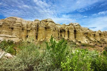 Volcanic rocks, Cappadocia, Anatolia, Turkey. Goreme national park.