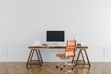 3d modern working desk