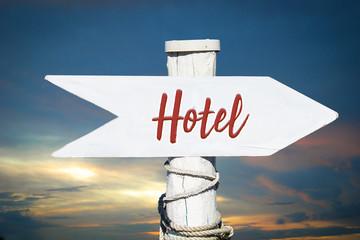 Schild 317 - Hotel