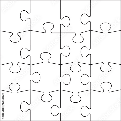 Collection Of Jigsaw Puzzle Templates