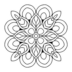 Vector arabesque ornament