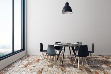 New dining room interior