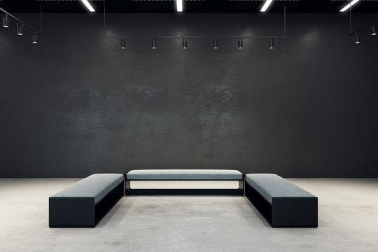 Contemporary exhibition hall