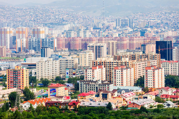 Ulaanbaatar aerial view, Mongolia