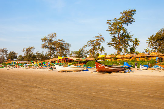 Beach in Goa, India