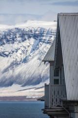 Poster Arctic Reykjavik Waterfront Townhouse