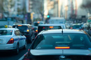 銀座の渋滞イメージ