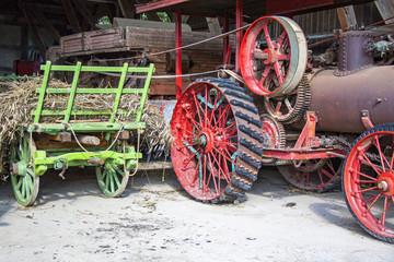 Matériel agricole ancien