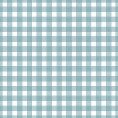 Firebrick Gingham light blue and white pattern. Texture from squares for - plaid, tablecloths, clothes, shirts, dresses,