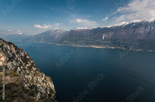 Panorama Lago di Garda dalle Terrazze del brivido Tremosine\