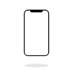 Phone icon vector, simple illustration for web or mobile app