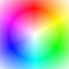 Smooth abstract gradient background in the colors of the rainbow