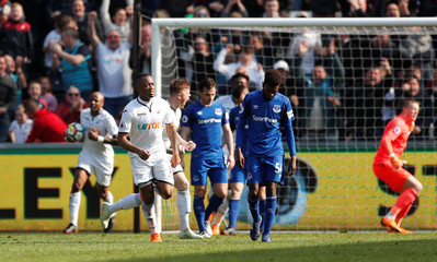 Premier League - Swansea City vs Everton