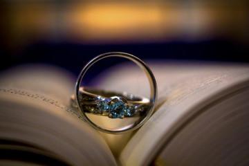 Rings in book