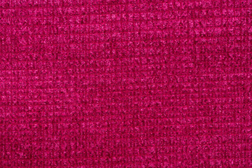 Admirable fabric texture in excellent pink tone.