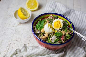 Leckeres Rezept  Veggie Quinoa Bowl
