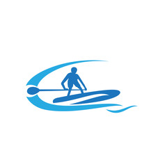 sport stand up paddling Board logo
