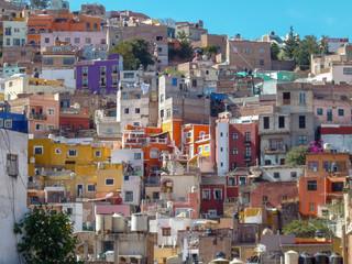 Casas de colores en Mexico