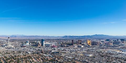 Poster Las Vegas Las Vegas Skyline from Above