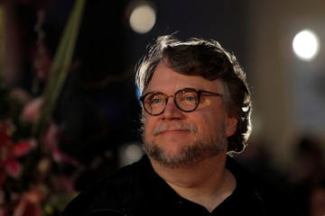 Mexican director Guillermo del Toro poses during a photocall  before the ceremony of honouring him with Malaga-Sur award for lifetime achievements, outside the Cervantes Theatre in Malaga