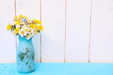 Frühling - Blumenstrauß Gänseblümchen - Frühlingsstrauß