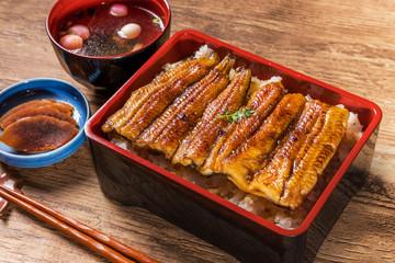 国産うなぎのかばやき Luxury of Japan production eel