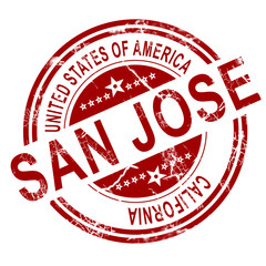 San Jose with white background