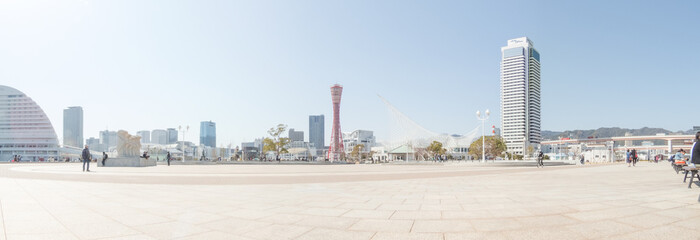 神戸 メリケンパークの風景