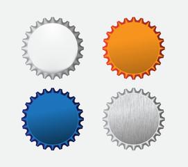 Bottle caps icon