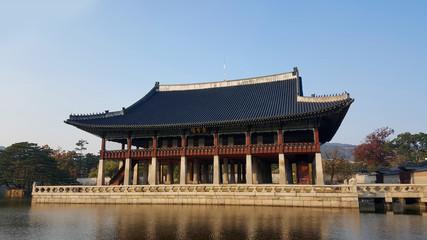 Pagoda Palace on the Lake in Gyeongbokgung