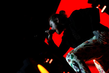 Post Malone performs at the Coachella Valley Music and Arts Festival in Indio