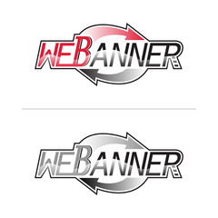 logo sign web banner Internet repeat