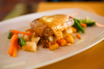 Alpaca meat, peruvian style