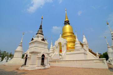 Wat Lok Moli, Buddhist temple in Chiang Mai - Thailand