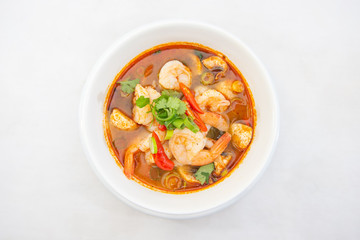 Tom Yum Prawn - Thai Spicy Soup