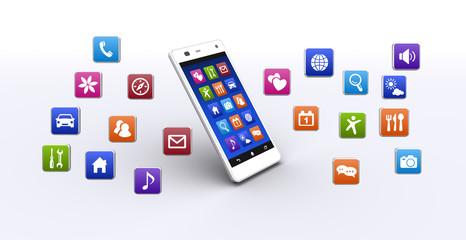 スマートフォンとアプリケーション