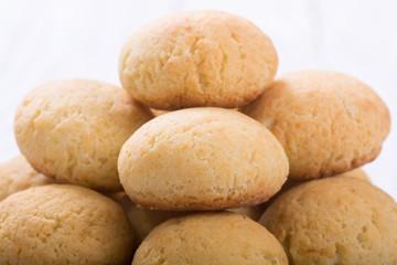 Homemade brazilian cheese buns
